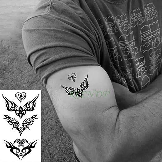 tzxdbh 7 Unids Impermeable Etiqueta engomada del Tatuaje Temporal ...