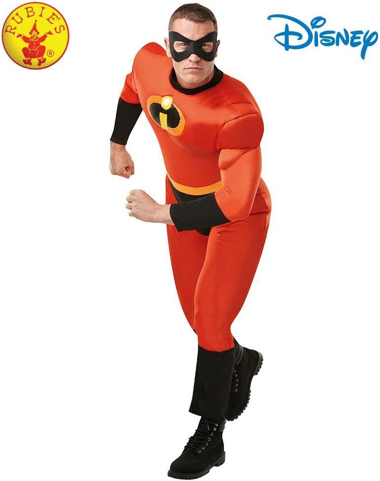 M Rubies 820989std officielle Disney 2 pour homme Mr Incredible Adulte classique Taille standard
