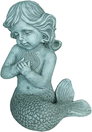 Hi-Line Gift Ltd Mermaid Kneeling