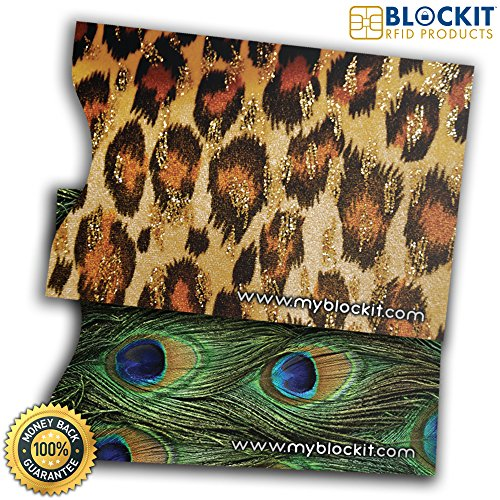 Blockit Passport Protector Sleeves   Best For Rfid Blocking  Travel Security And Fraud Protection   Designer Set Of 2   Includes 2016 Id Theft Protection Ebook   Recommended By Lifelock