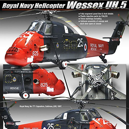 Academy Models 1/48 Royal Navy Helicopter Wessex UH.5