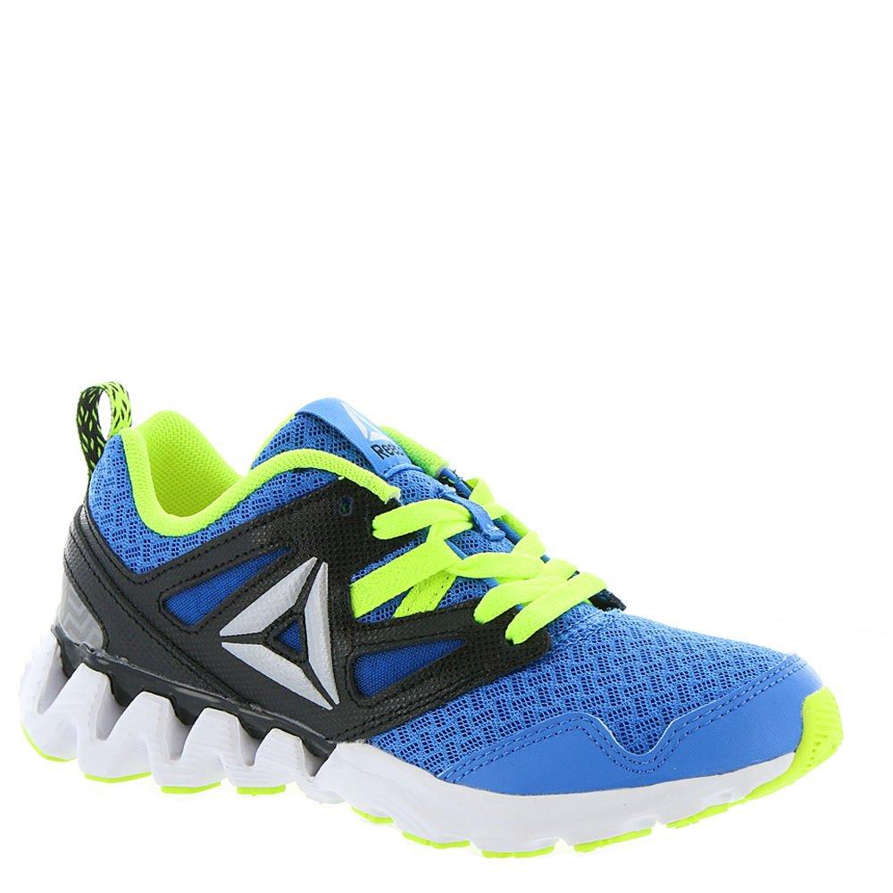 Reebok Kids Boy's Zigkick 2K17 (Little Kid) Horizon Blue/Solar Yellow/Black/White/Silver Metallic Athletic Shoe