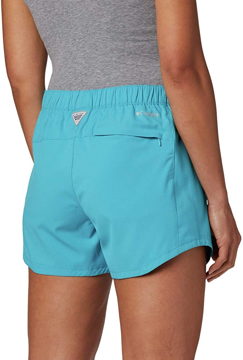 Columbia Womens Tamiami Pull-On Short UV Protection Moisture-Wicking
