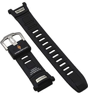 50j Trek De Prg Resin Pro Casio Bracelet Montre 50 Noir Band Yb7fgy6