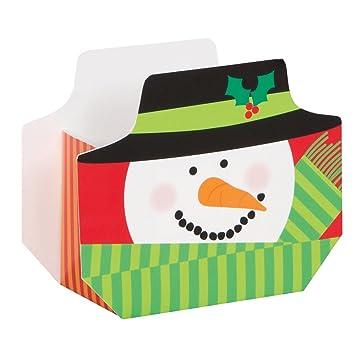Cajas navideño, diseño de muñeco, 8 unidades): Amazon.es: Juguetes y juegos