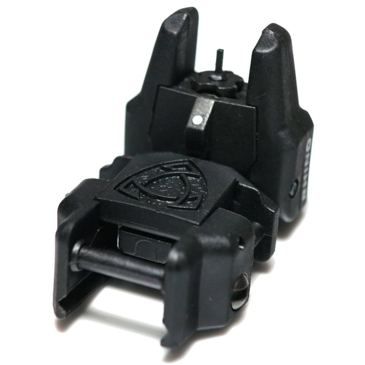 Airsoft Wargame Tactical Shooting Gear APS GG038B Rhino Auxiliary Flip Up Front Sight Black