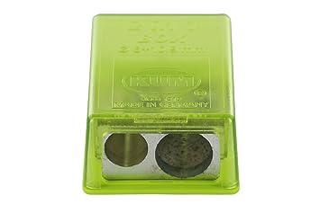KUM az103.20.19 de G pequeño depósito Sacapuntas 2 en 1 m2 g de magnesio, 1 unidades, color verde: Amazon.es: Oficina y papelería