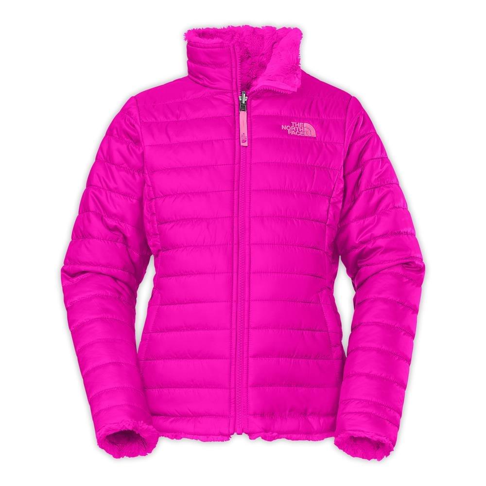 335493f0ba3a Amazon.com  The North Face Reversible Mossbud Swirl Jacket Girls Luminous  Pink XXS5  Sports   Outdoors