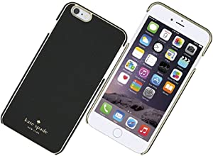 """Kate Spade New York Wrap Case for iPhone 6Plus & 6SPlus - Black Saffiano (Fits Larger iPhone with 5.5"""" Screen)"""