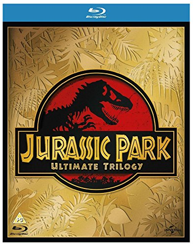 JURASSIC PARK ULTIMATE TRILOGY BLU RAY SET - FILMS 1, 2 & 3 - BRAND NEW