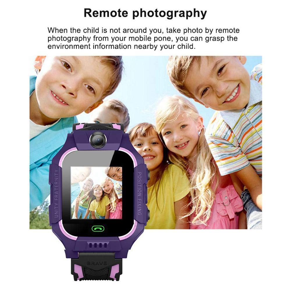 lesgos Kids Smartwatch with GPS Tracker, Anti-Lost ...
