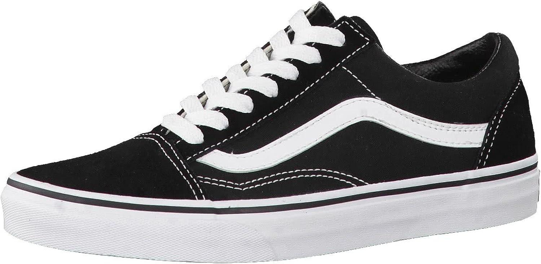 Vans Old Skool Shoes 7.5 B(M) US Women / 6 D(M) US Black White