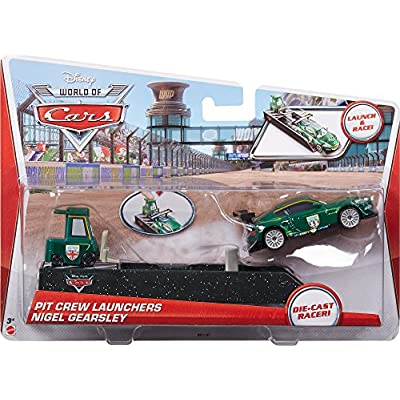 Disney Cars Pit Crew Launchers, #9 Nigel Gearsley: Toys & Games
