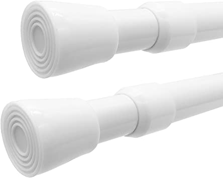 Amazon Com Windbreath Tension Shower Curtain Rod 41 77 Inch Pack