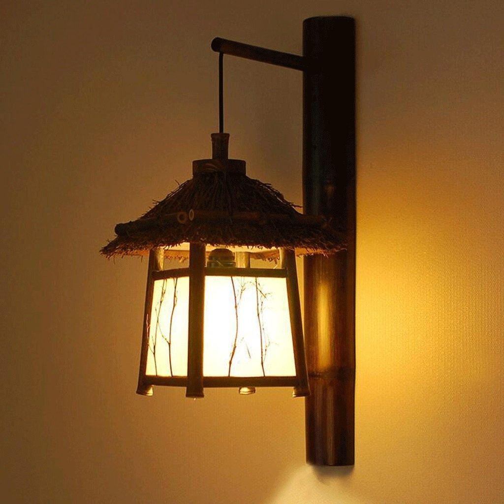WTL Lighting restaurant japonais décoré à la main Inn Sud-Est asiatique lampe teahouse balcon mur décoré avec