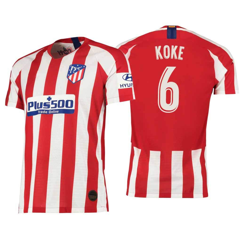 S&K Sports Camiseta Koke Atletico de Madrid Rojo,Camiseta Koke ...