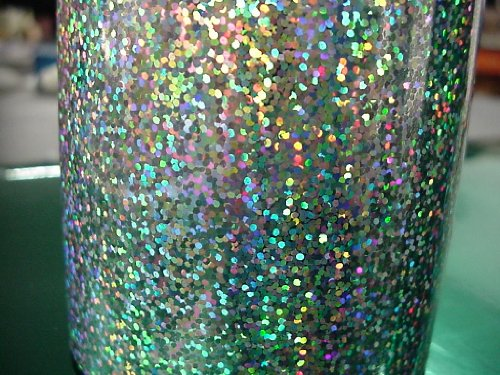 Glittering Sign Vinyl Holographic Irridescent Sequins