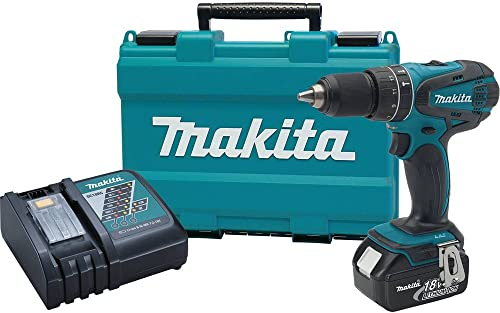 Makita XPH012 18V LXT Lithium-Ion Cordless 1 2-Inch Hammer Driver-Drill Kit with One Battery- DIscontinued by Manufacturer Discontinued by Manufacturer