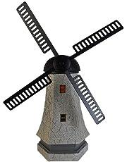 Solar Garden Light Windmill Lighthouse Ornament Statue Tower Lighting 53cm