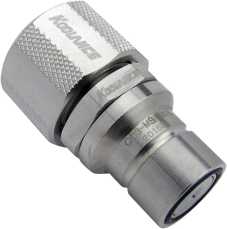 Compression for 13mm x 16mm Koolance QD3-MS13X16 QD3 Male Quick Disconnect No-Spill Coupling 1//2in x 5//8in