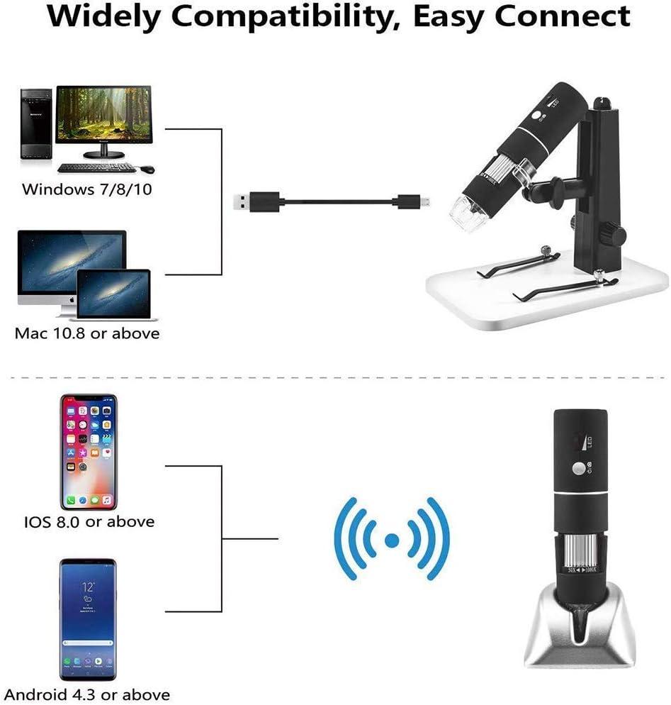Dsnmm Digital-Mikroskop Minitaschen-Mikroskop Kompatibel mit ...