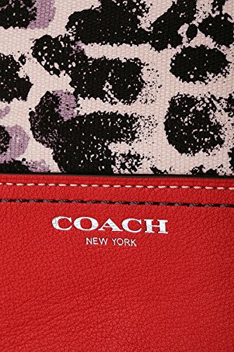 Ocelot Print Neutral Legacy Carmelian Coach Duffle H1B6wT