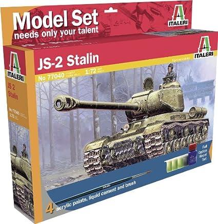 Amazon.com: Italeri modelo Set ms77040 – Maqueta 1: 72 JS-2 ...