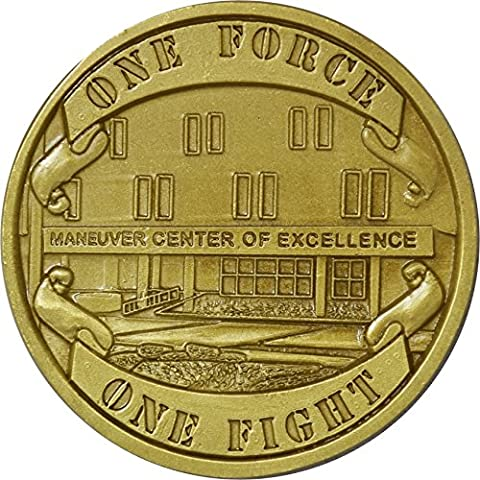 Fort Benning Georgia Maneuver Center of Excellence Challenge Coin by Military Productions (Military Fort)