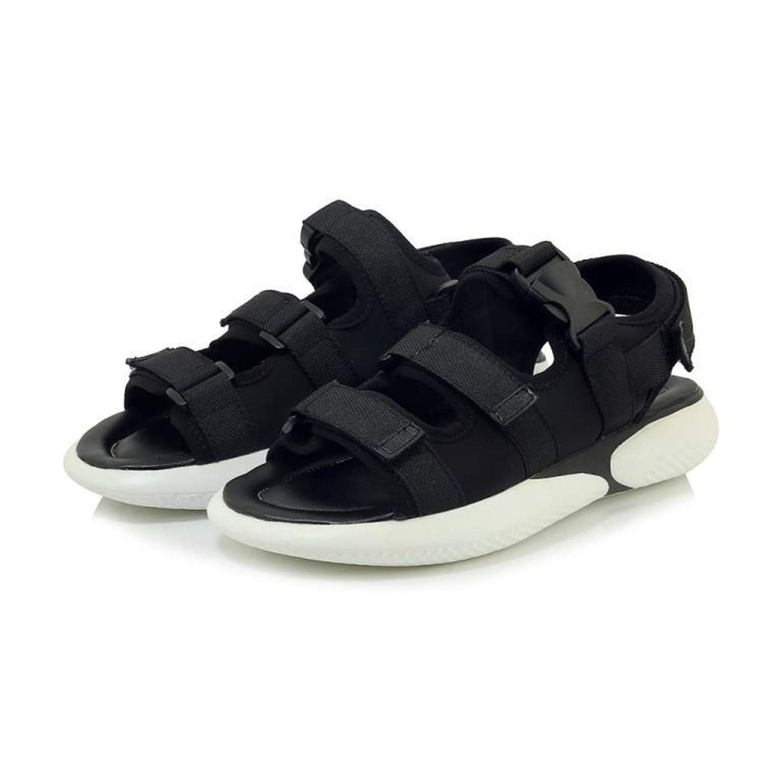 fly-consciousness Summer Sandals Sports Sandals Cloth Flat with Open Toe