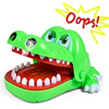 Crocodile Dentist - Crocodile Biting Finger Game Funny Toys For Kids - 1 to 4 Players - Ages 4 and Up