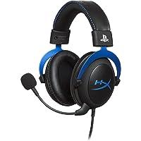 سماعة رأس كلاود بمفاتيح تحكم وميكروفون عازل للضوضاء و لالعاب بلاي ستيشن 4 من هايبر اكس HX-HSCLS-BL-EM - اسود