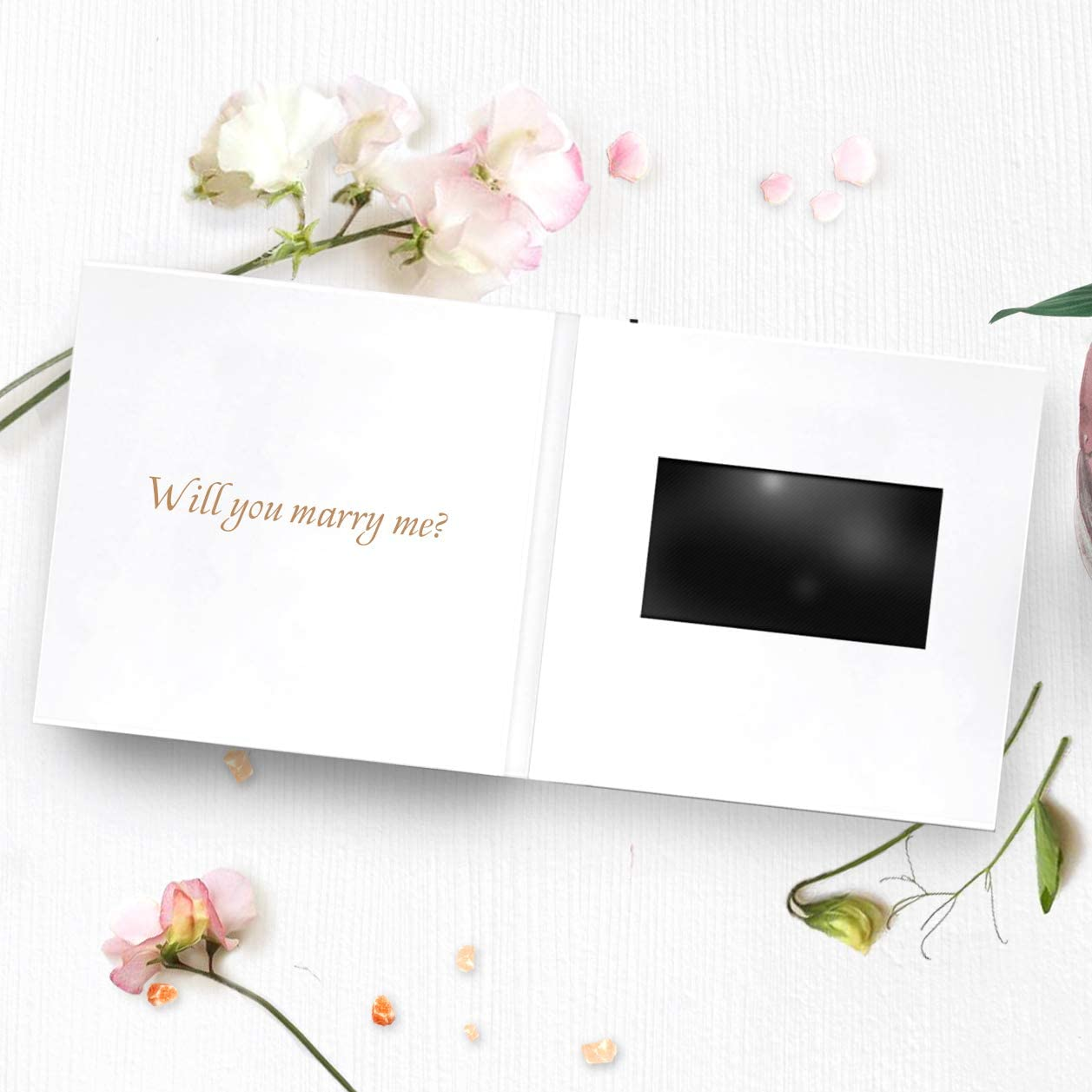 Will you MARRY ME Marriage Proposal card Folded card with envelope