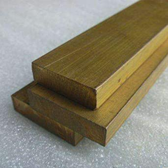 Brass flat bar for industrial rectangular brass bar thickness 3//4//5//8//10mm width 10//15//20//30//40mm length 100//150//200//300mm #1:3x10x100mm