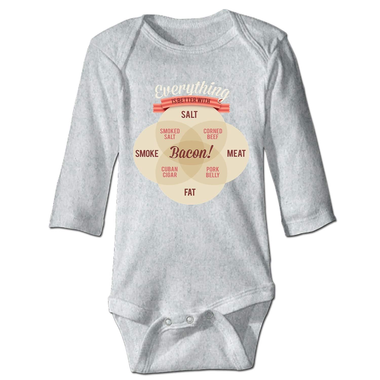 OHFSCTN Best Mom Ever Unisex Long Sleeve Summer Bodysuit 100/% Cotton