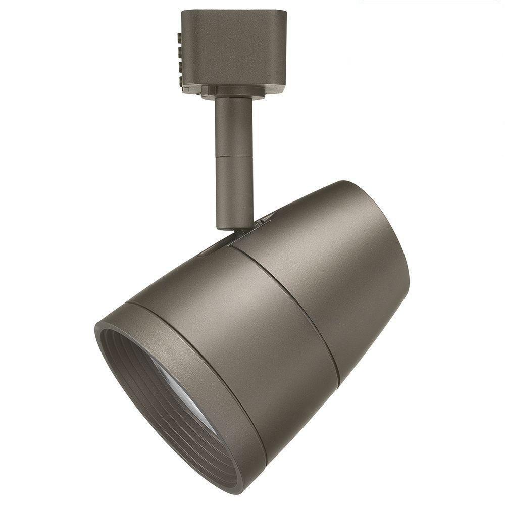 Juno Lighting R600L G2 2700K 80CRI PDIM FL BZ Dimmable 9.5W LED Trac Head , 50W Equivalent, Bronze