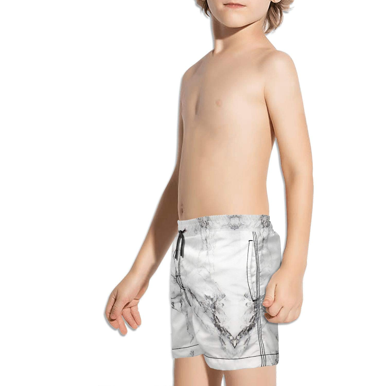 Ouxioaz Boys Swim Trunk Purple Paint Marble Beach Board Shorts