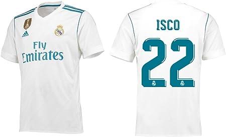Camiseta de hombre del Real Madrid 2017 – 2018, primera ...