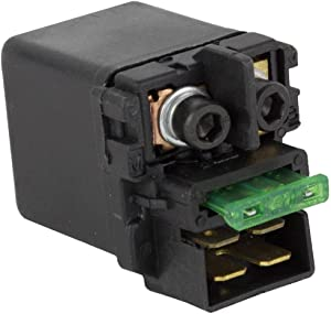 Rareelectrical NEW STARTER SOLENOID COMPATIBLE WITH HONDA MOTORCYCLE VTX1300 2003-09 35850-MR5-007 35850MR5007 35850-MR5-007 35850MR5007