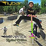 Flybar Limited Edition Foam Maverick Pogo Stick for Kids - Two New Rubber Hand Grips