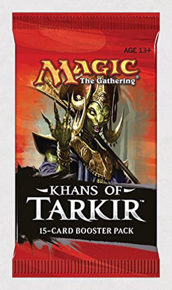 Magic The Gathering Khans of Tarkir Booster Pack: Amazon.es: Juguetes y juegos