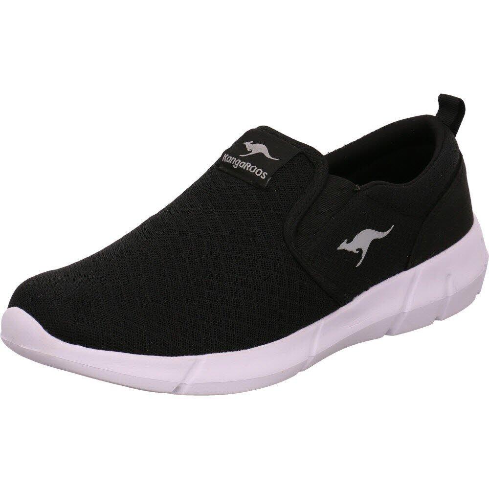 Kangaroos Saboo Slip, Zapatillas sin Cordones para Hombre 43 EU|Negro (Jet Black/Steel Grey 5003)
