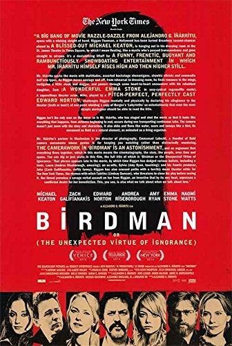 Birdman - Authentic Original Movie Poster