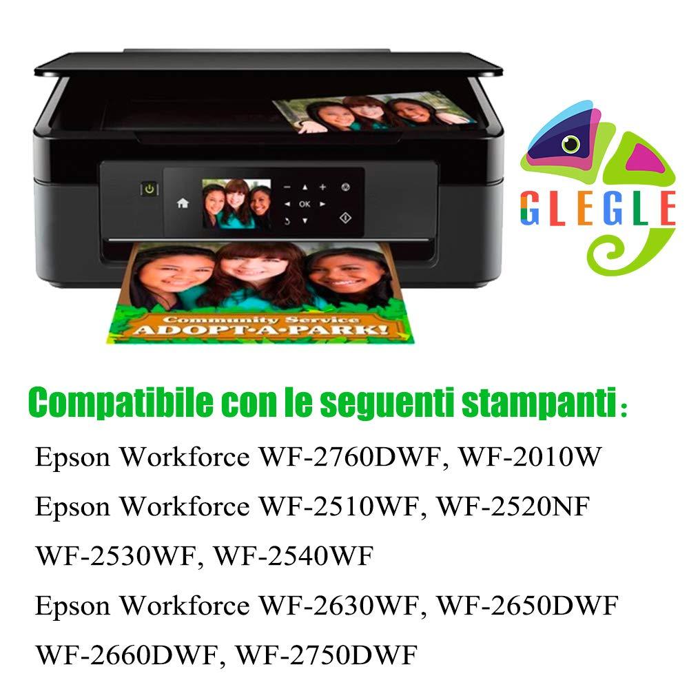 GLEGLE 16XL 16 XL Cartuchos de repuesto para Epson 16 cartuchos ...