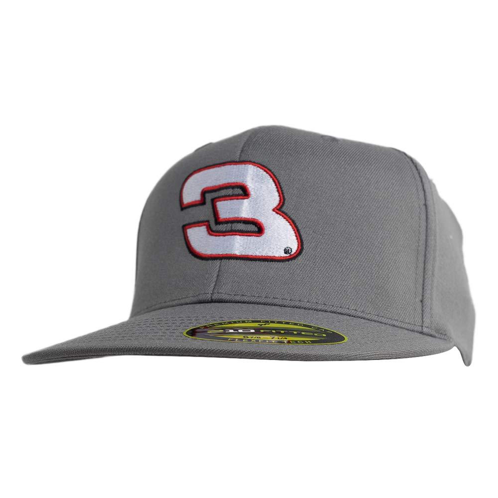 Grey L//X Ouray Sportswear NASCAR Richard Childress Racing Austin Dillon Mens Flexfit 210Flexfit 210