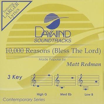 Matt Redman 10 000 Reasons Bless The Lord Accompaniment