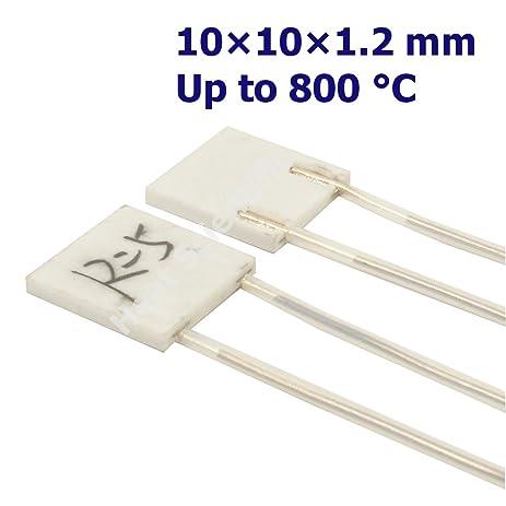 Heat Scientific MCH Metal Ceramic Heater | 10 X 10 X 1.2mm | Pack of  sc 1 st  Amazon.com & Heat Scientific MCH Metal Ceramic Heater | 10 X 10 X 1.2mm | Pack of ...