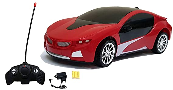 Magicwand R/C Rechargeable Car with Cool 3D Led Lights for Kids (Colors as Per Stock)