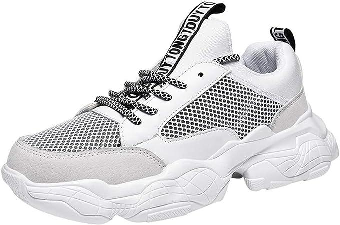 ZARLLE Zapatillas de Hombre,Moda Modelos Salvajes Zapatos Casuales, Cómodo Transpirables Baja Ayuda Zapatos para Correr,Zapatos Running Aire Libre: Amazon.es: Ropa y accesorios
