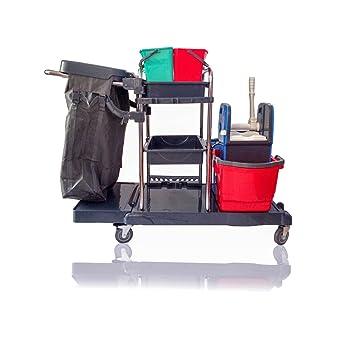 Mr. Mop Limpieza accesorio carro carrito – Service (con rodamiento de bolas 4 ruedas