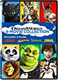 DreamWorks 4-Movie Collection (How to Train Your Dragon / Madagascar / Shrek / Kung Fu Panda)